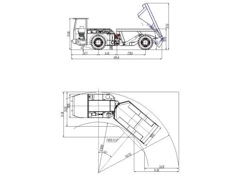 Tip Truck Mining Dump Truck China Mining Dumper Supplier