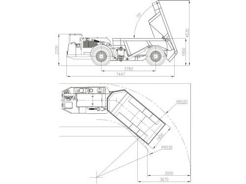 Mining Tip Truck China Mining Dumper Lorry Manufacturer